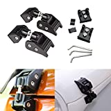 TuhooMall Latch Locking Hood Catch Kit Intended for 2007-2018 Jeep Wrangler JK