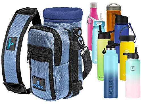 Moveo - Borraccia per acqua in uno – Infusore per frutta – Borraccia – Bottiglia per acqua e pillole – Acqua B, 207 g