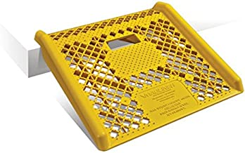 Magliner Yellow Plastic Curb Ramp