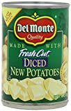 Del Monte Diced New Potatoes 14.5 Oz (Pack of 6)