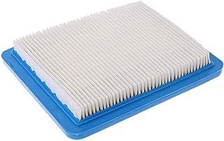 JOYKK Quadratischer Luftfilterreiniger für Briggs & Stratton 491588 491588S 399959 Rasenmäher   Blau + Weiß