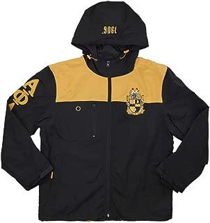Alpha Phi Alpha Ice Cold Windbreaker Jacket Black