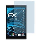 atFolix Schutzfolie kompatibel mit Medion LIFETAB X10302 MD60347 Folie, ultraklare FX Bildschirmschutzfolie (2X)