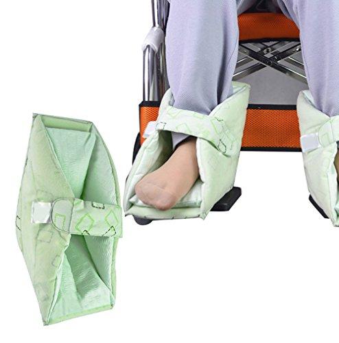 Scenstar Fersenpolster, Fersenschoner Fersenfreilagerung Fersenschutz, Fuß Füße Ferse Geschwür Kissen Pad Padding Protector (nicht 1 Paar)
