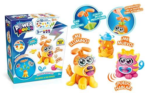 POWER DOUGH, multicolor (Canal Toys Amazon ES1 18) , color/modelo surtido