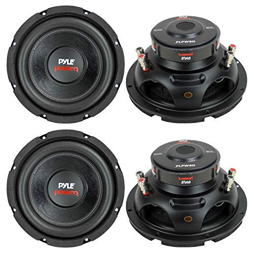 PYLE PLPW8D 8″ 1600W Car Audio Subwoofers Subs Woofers Stereo DVC 4-Ohm