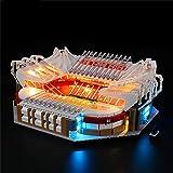 LODIY Juego de luces para Lego 10272 Old Trafford - Manchester United - Juego de luces LED compatible con Lego 10272 (no incluye modelo Lego)