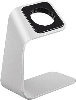 Watch Laddningsstativ Tabletop Laddare Bracket Hållare Kompatibel Med Apple Iwatch Silver, Holder Kitchen