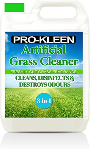 Pro-Kleen Artificial Grass Cleaner and Disinfectant - 5 Litre Super Concentrate: Makes 15 Litres -...