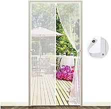 EGNBU Magnetisch vliegengaas, deur, magnetisch gordijn, vliegengordijn, muggennet voor balkondeur, kelderdeur en terrasdeu...