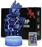 Lámpara visual 3D de ilusión óptica 3D Yond3r – Regalo perfecto para cumpleaños, festival de Navidad para bebés, adolescentes y amigos