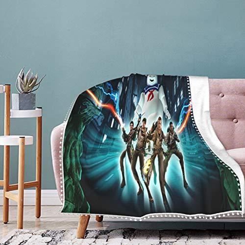 Ghostbusters The Video Game Remastered Switch Hero Beauty - Manta suave para recién nacido, manta cálida para cama de guardería para todas las estaciones 50 x 40 pulgadas