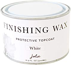 Jolie Finishing Wax - Protective Topcoat for Jolie Paint - Use on Interior Furniture, cabinets, Walls, Home Decor and Acce...