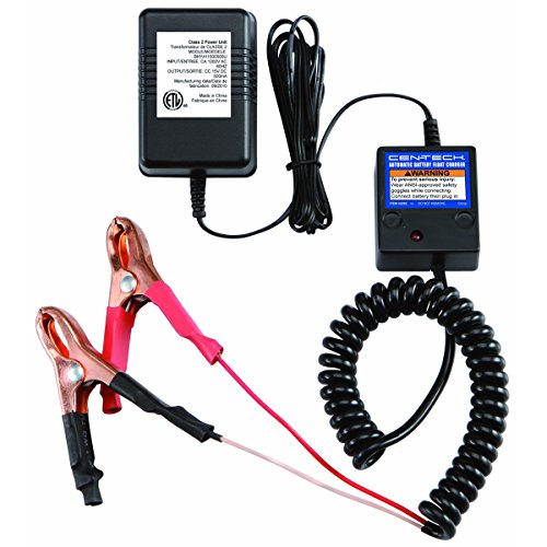 Cen-Tech Automatic Battery Float Charger, 12 Volt Wet Lead-Acid Only