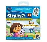 Vtech - Jeu éducatif Storio 2 Dora + Mon premier casque audio