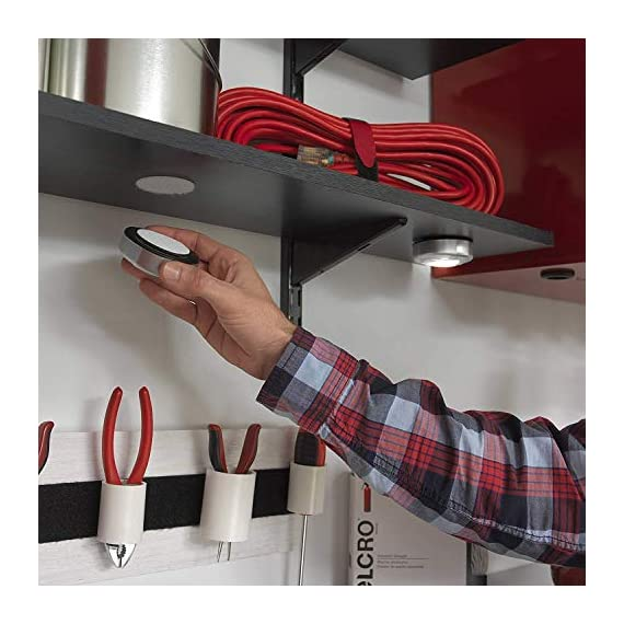 VELCRO Brand Industrial Fasteners Stick-On Adhesive | Professional Grade Heavy Duty Strength | Indoor Outdoor Use, 1 7… 10 Professional grade adhesive. Unmatched versatility. Ultimate tool for organization, mounting, hanging, storing and much more. Our tape will adhere to almost all surfaces! It is even water resistant. Use it indoor and outdoor. This Industrial Strength Sticky Back tape is designed for tough applications. Stronger adhesive, longer lasting and more durable than other brands