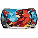 Comic Book Hero Polygon Design Vinyl Decal Sticker Skin by egeek amz for PSP Go