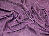 Minerva Crafts Glitzernde Lurex Crinkle Chiffon Kleid Stoff