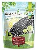 Organic Black Turtle Beans, 3 Pounds - Dried, Non-GMO, Kosher, Raw, Sproutable, Vegan, Bulk