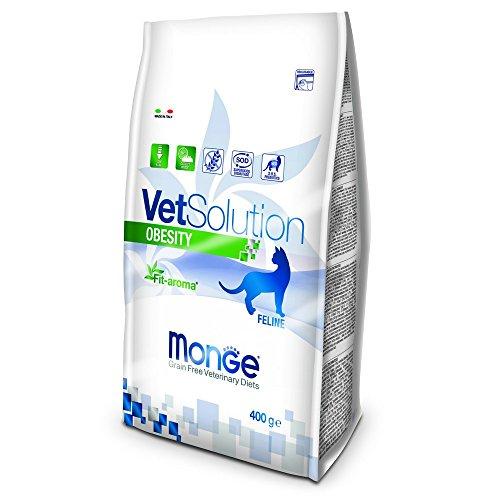 Monge Veterinary Solution Gatto Obesity GR. 400 Cibo Gatti, Multicolore, Unica