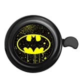 Surmoler Classic Bike Bell Aluminum Loud Sound Bicycle Bell Bike Accessory for Adults Kids,Right Hand (Batman)