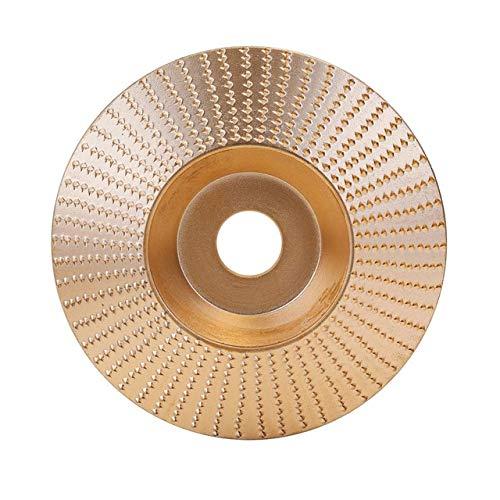 Fantastic Deal! Xucus 100mm Woodworking Grinding Machine Wood Grinding Wheel Angle Grinder Disc Wood...
