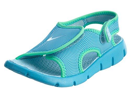 Nike Nike Sunray Adjust 4 (Gs/Ps), Jungen Flip-Flops, Mehrfarbig - Schwarz/Weiß (Schwarz/Weiß-Anthrazit) - Größe: EU 32