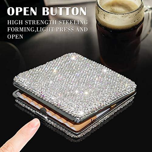 Clear glitter cigarette case _image4