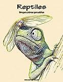 Reptiles libro para colorear para adultos 1