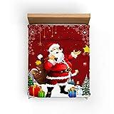 Serie De Patrones De Navidad Funda Nórdica De 3 Piezas Ropa De Cama Suave, Cómoda Y Transpirable Mantener Cálido Y Práctico