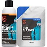GEAR AID Care Kit with Revivex Pro Cleaner and Revivex Durable Water Repellent Spray, Clear, 10 oz Pack & 10.5 oz Pack