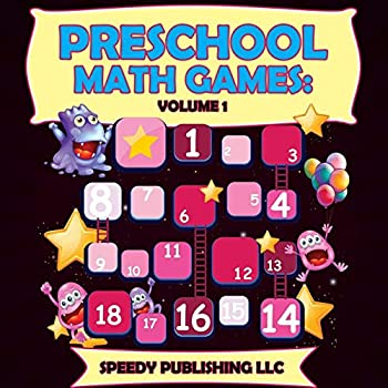 Paperback Preschool Math Games: Volume 1 Book