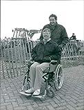 Vintage photo of Linda Hogg and Adam Broadway