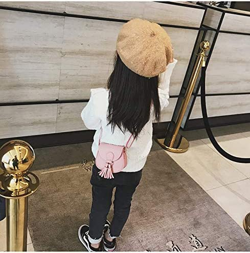 Little Girls Purse Cute Leather Crossbody Bag Mini Shoulder Bag for Kids,Toddler