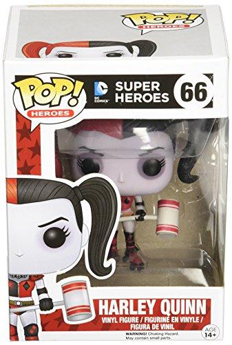 Funko - Figurine DC Comics - Harley Quinn Roller Derby Exclu Pop 10cm - 0849803052607