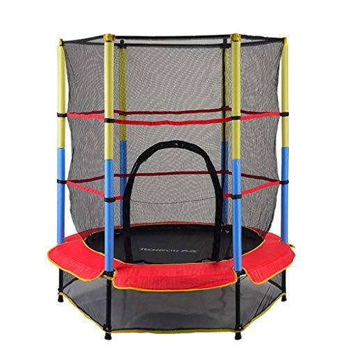 Ownlife 55Inch Kinderen Trampoline Ronde Mute Fitness Elastische Touw Trampoline Voor Kinderen Met Veiligheidsnet Mobiele Park Baby's