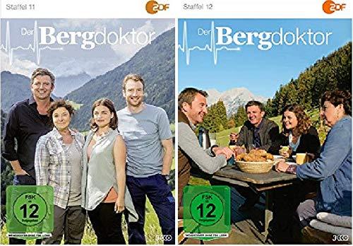 Der Bergdoktor Staffel 11+12 Folgen 96-111 [DVD Set]