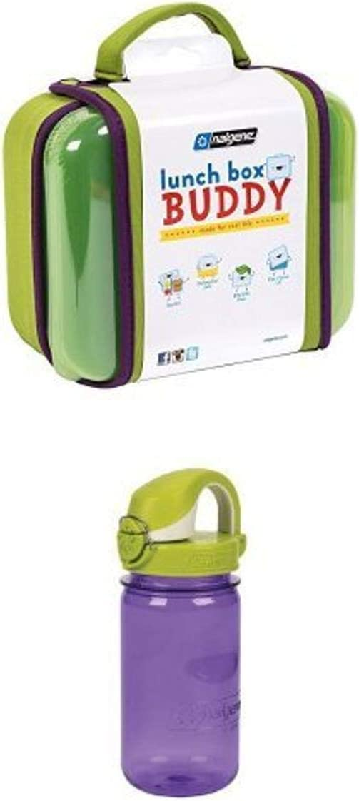 Max Easy-to-use 47% OFF Nalgene Buddy Lunch Box Green and with Kids Bottle OTF