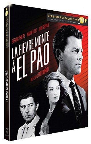 L'isola che scotta / Fever Mounts at El Pao ( La fièvre monte à El Pao ) (Blu-Ray & DVD Combo) [ Origine Francese, Nessuna Lingua Italiana ] (Blu-Ray)