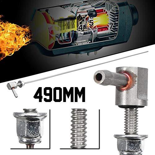 Preisvergleich Produktbild lennonsi Standrohr für Kraftstofftank Lang 490 mm,  Heater Fuel Stand Pipe Heizung Teil