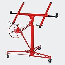 XXL platenlift voor gipsplaten, 1-man-bediening tot 350 cm en 68 kg