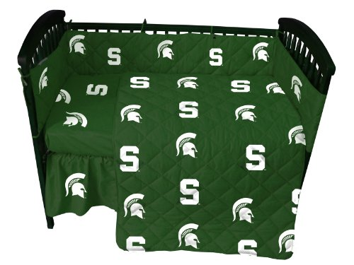NCAA Michigan State Crib Bedding Collection