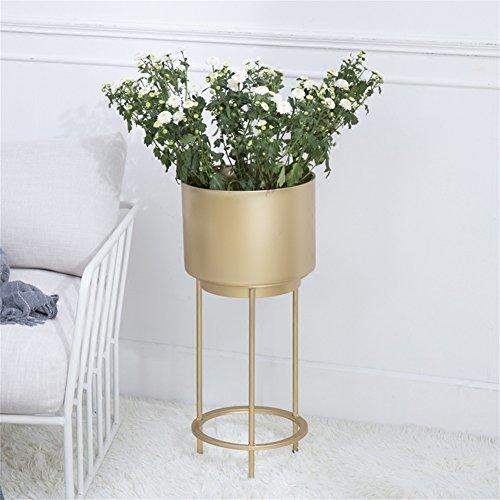 Support de fleur d'art de fer simple présentoir intérieur et extérieur de pot de fleur pour le salon de balcon