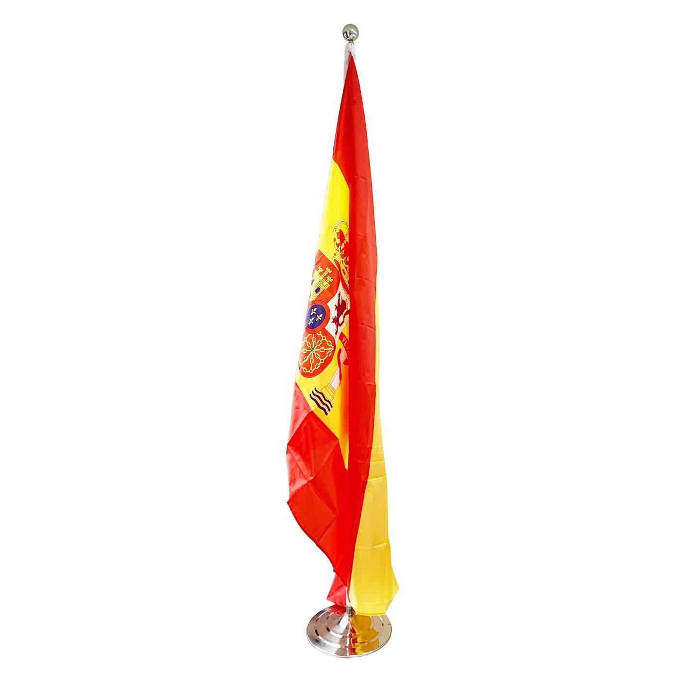Acan Base de Bandera con Palo 200 cm más Bandera de España 120 x 180 cm: Amazon.es: Hogar