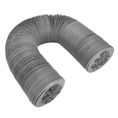 Cikonielf uitlaatpijp, flexibel, dubbellaags, aluminiumfolie, PVC, voor de ventilatie van de keuken, 8 m