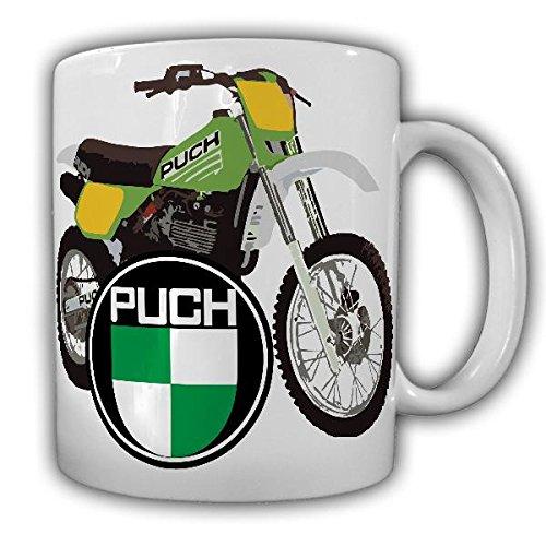 Tasse Puch-Tasse 500ccm Motocross Motorrad Geländemotorrad Biker Oldtimer Vintage #22260