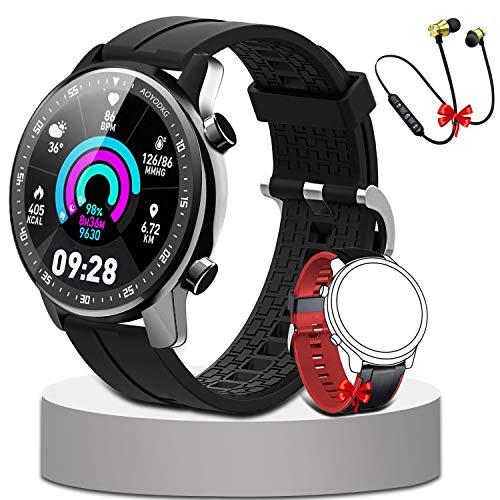 Smartwatch,Fitness Watch Uhr Voller Touch Screen IP68 Wasserdicht Fitness Tracker Sportuhr mit Schrittzähler Pulsuhren Stoppuhr für smartwatch Damen Herren für iOS Android