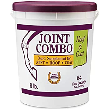Horse Health Joint Combo Hoof & Coat convenient 3-in-1 supplement for complete joint hoof and coat care 8 pound