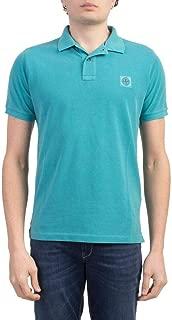Stone Island Luxury Fashion Mens 721522S67V0042 Light Blue Polo Shirt | Spring Summer 20
