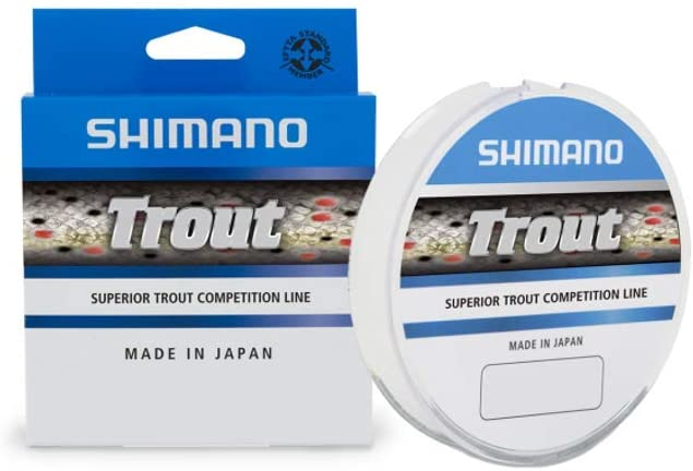 Mono Filo Monofilo Shimano Trout Competition 300 mt Spinning mare lago PP